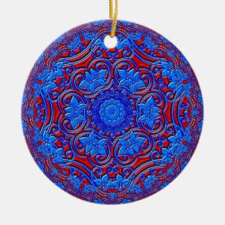Blue Buddha Christmas Ornament