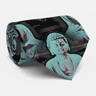 Blue Buddha - large Tie