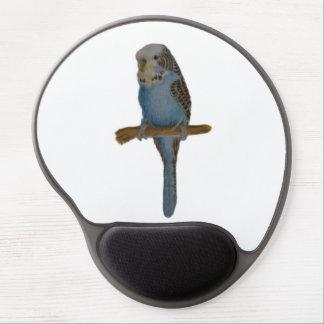 Blue Budgie Art Gel Mousepad Gel Mouse Mat
