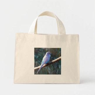 Blue Budgie Bag