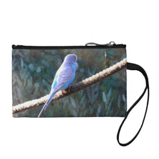 Blue Budgie Coin Wallet