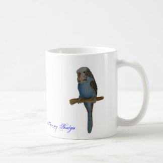 Blue Budgie Coffee Mug