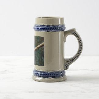 Blue Budgie Mug