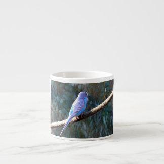 Blue Budgie Espresso Cups