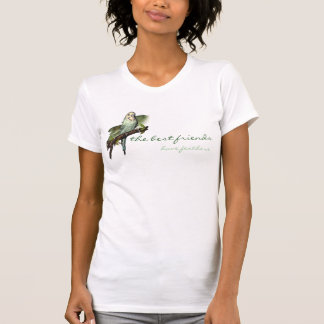 Blue Budgie Personalized Art Tee
