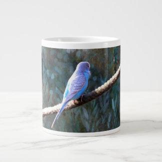 Blue Budgie Extra Large Mugs