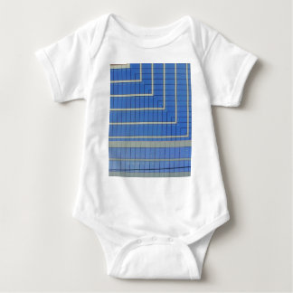 Blue Building Block 4 Baby Bodysuit