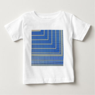Blue Building Block 4 Baby T-Shirt