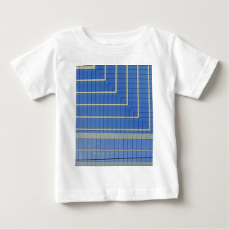 Blue Building Block 4 Baby T-Shirt