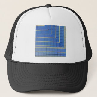 Blue Building Block 4 Trucker Hat