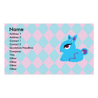 Blue Bunny Business Cards Standard Business Cards