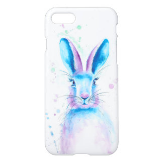 Blue Bunny iPhone 7 Mobile Case