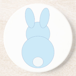 Blue Bunny Rabbit Coaster