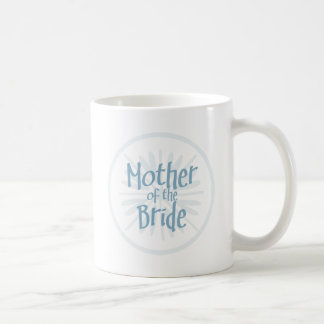 Blue Burst Mother of the Bride Coffee Mugs
