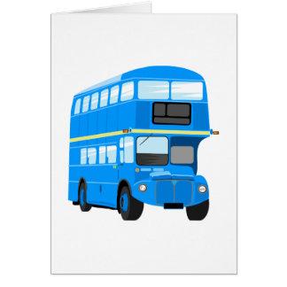 Blue Bus Card