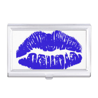 BLUE Business Card HOlder