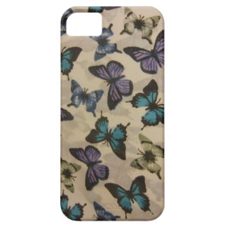 Blue Butterflies Barely There iPhone 5 Case