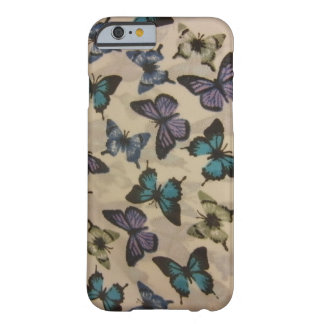 Blue Butterflies Barely There iPhone 6 Case
