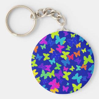 Blue Butterflies Keychain
