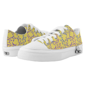 Blue Butterflies Low Tops