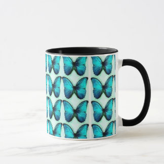 Blue Butterflies Mug