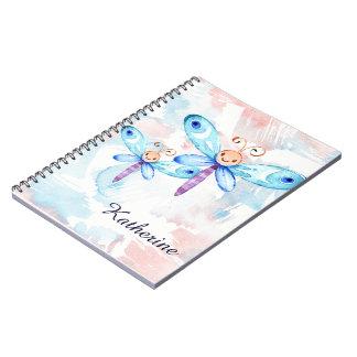 Blue Butterflies Notebooks