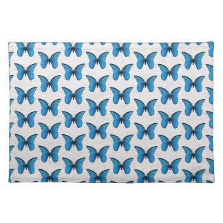 Blue Butterflies Placemat