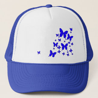Blue Butterflies Trucker Hat