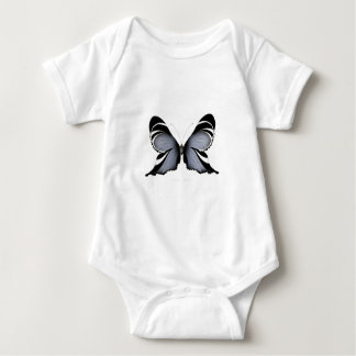 Blue Butterfly 3 Sulawesi Woodtree Baby Bodysuit