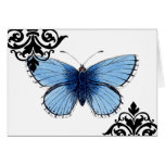 Blue Butterfly Greeting Cards