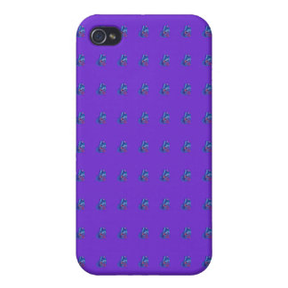 Blue Butterfly iPhone 4/4S Cases