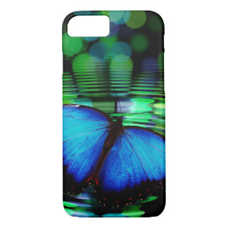 Blue Butterfly iPhone 7 Case