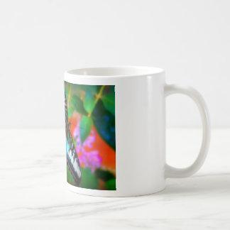 Blue Butterfly Macro Photography Art on a Mug