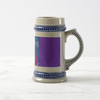 Blue Butterfly Beer Steins