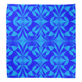 Blue Butterfly Pattern by Kenneth Yoncich Bandana
