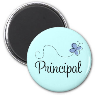 Blue Butterfly Principal Gift Magnet