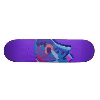 Blue Butterfly Skate Board Decks