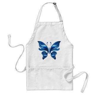 Blue butterfly standard apron