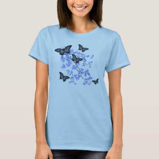 Blue Butterfly T-Shirt