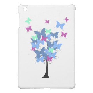 Blue Butterfly Tree Cover For The iPad Mini