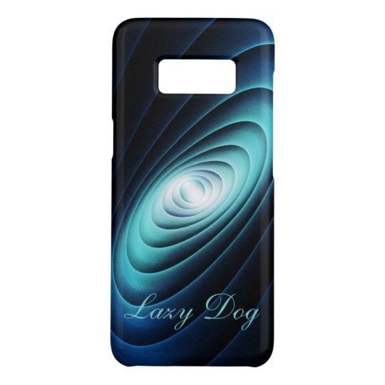 'Blue Button' Modern Design Phone Case