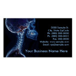 Blue C-spine customisable business card