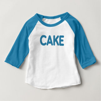 {Blue} Cake Tee for Baby