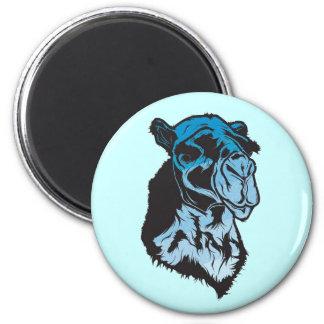 Blue Camel Magnent 6 Cm Round Magnet