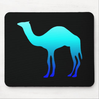 Blue Camel Mouse Mat