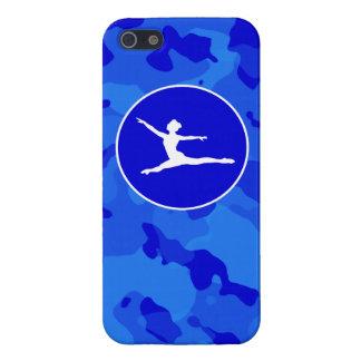 Blue Camo; Camouflage Ballet iPhone 5 Case