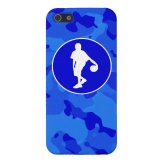 Blue Camo; Camouflage Basketball iPhone 5 Covers