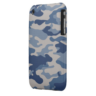 Blue Camo Case-Mate iPhone 3G/3GS iPhone 3 Case-Mate Cases