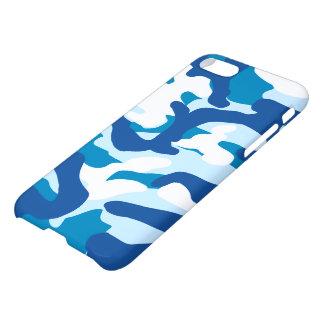 Blue camo iPhone 8/7 case