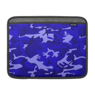 Blue Camo Sleeve For MacBook Air